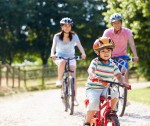 Take a bike ride with your children this weekend