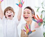 Get messy with your child this weekend
