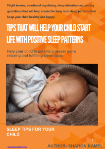 Does your child get enough sleep